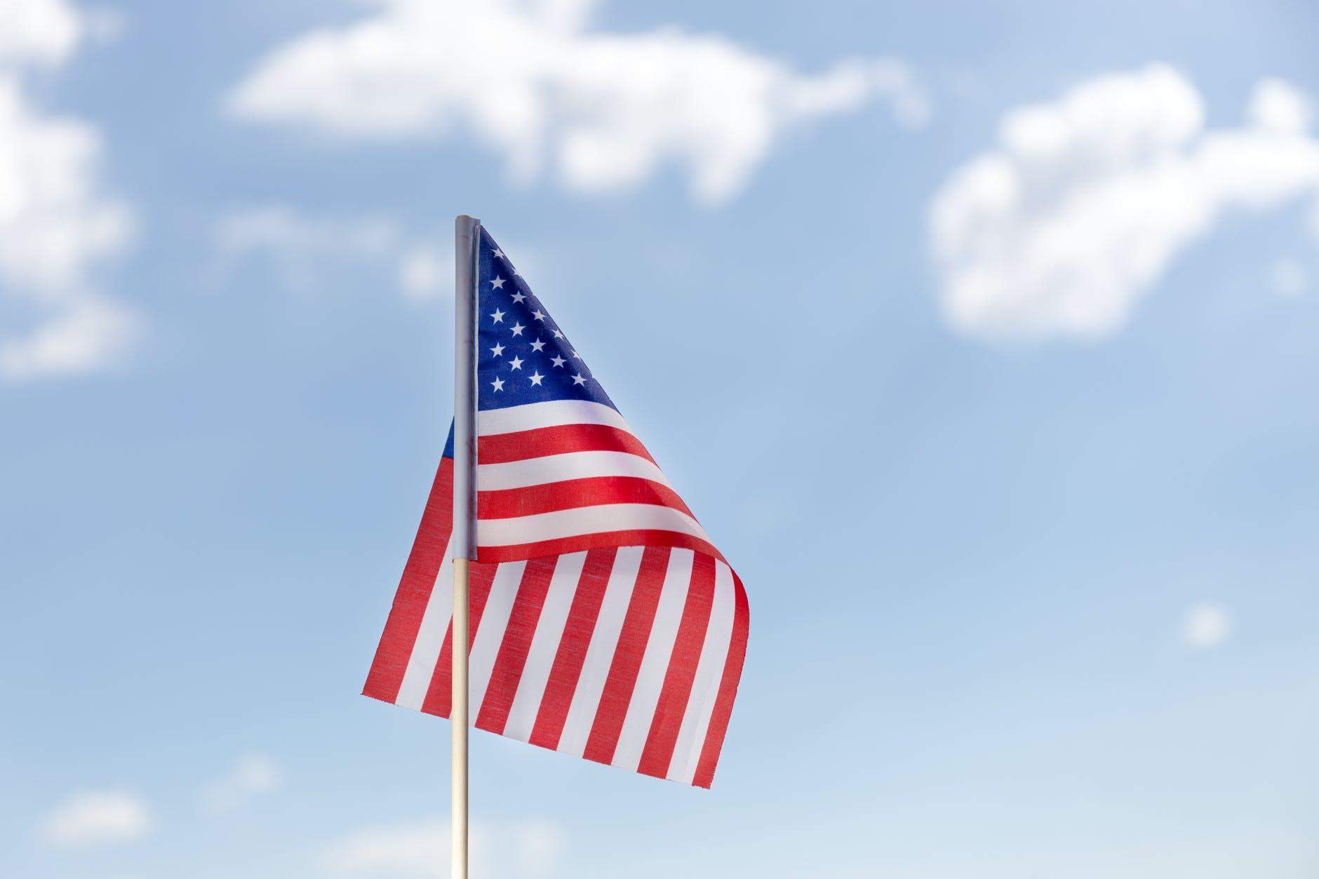 summer freedom travel flag